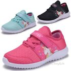 Внешний вид - Girls Fuchsia Mint Unicorn Sneakers Tennis Shoes School Kids Youth Toddler Sport