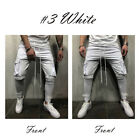 Gym Slim Fit Trousers Tracksuit Bottoms Skinny Joggers Sweat Track Pants