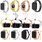 Women's Stainless Girl Retro Bracelet Band Strap For iWatch Series 4 3 2 1 40/44