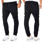 Stich & Soul Jeans Herren Hose Dunkelblau Stoffhose Chino Joggjeans Relaxed Fit