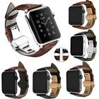 Genuine Leather Strap Bands for Apple Watch Series 4 Series 3 Series 2 Series 1