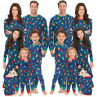 Family Matching Christmas Pajamas Set Men Women Baby Sleepwear Nightwear