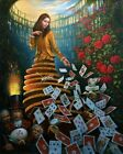 Michael Cheval HD Print Art Home Decor Oil Painting on Canvas 12x16 inch #01