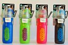 O2Cool Mist N Sip Artic Squeeze Sports Water Bottle Mister Different Colors 20oz