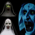 Kyпить The Nun Valak Mask Cosplay The Conjuring Scary Voice LED Halloween Mask Props на еВаy.соm