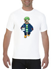 PERSONALISED FOOTBALL T-SHIRT - PICK ANY TEAM & DOG BREED - ADD YOUR OWN MESSAGE