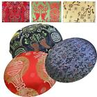 RoundShape Cover*Chinese Rayon Brocade Floor Chair Seat Cushion Case Custom*BL17