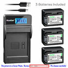 BP-718 CG-700 Battery or LCD Slim Charger for Canon VIXIA HF R32 R40 R42 R50