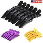 6pcs salon croc hair styling clips sectioning