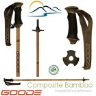 Ski Poles Bamboo Appearance 2018 Goode Fiber Composite Dark Kiln Dried