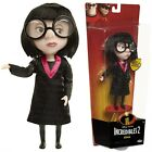 The Incredibles 2 Edna Mode Black Doll Action Figure Deluxe Costume and Glasses