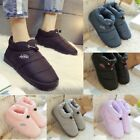 Winter Snow Boots Women Plush Ankle Boots Slip On Fur Warm Cotton Platform Flat