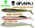 "GUNKI Soft Plastic Fishing 1pc Single Lure V2IB 4""-5,7"" Jig Head Bait Pike Perch"