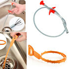 2PCS Sink Cleaning Hook Hair Cleaner Pipe Dredge Home Kitchen Bathroom Tools