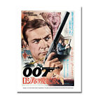JAMES BOND 007 Hot Movie Art Canvas Poster 8x11 24x32 inches $11.79 CAD on eBay