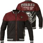 YAKUZA Jacke Other Side Quilted Two Face Jacket JB-12055 Ruby Wine