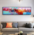 YA907# Modern Home decor Canvas Hand-painted Abstract oil painting Color art