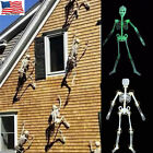Halloween Props Luminous Human Skeleton Hanging Decoration Outdoor Party US