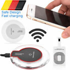 Qi Induktive Ladestation Wireless Charger fr  Samsung Galaxy S9 S8 + S7 S6 Edge