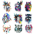 Kyпить Wolf Unicorn Tiger Feather Patches Iron on Clothes Stickers DIY Thermal Transfer на еВаy.соm