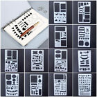 Bullet Journal Stencil Plastic Planner DIY Drawing Template Diary Craft Card Set