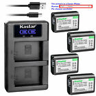 NP-FW50 Battery or LCD Charger for Sony Cyber-shot DSC-RX10M4, SLT-A33 SLT-A35