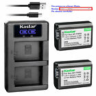 NP-FW50 Battery or LCD Charger for Sony Cyber-shot DSC-RX10, RX10 II, RX10M2