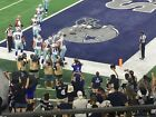 Dallas Cowboys vs Detroit Lions - Row 4- Section 203 Goal-line -COWBOYS SIDELINE on eBay