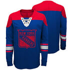NHL New York Rangers Perennial Long Sleeve Crew Jersey Shirt Top Youth Kids $36.12 USD on eBay