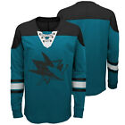 NHL San Jose Sharks Perennial Long Sleeve Crew Jersey Shirt Top Youth Kids $35.3 USD on eBay