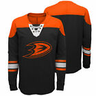 NHL Anaheim Ducks Perennial Long Sleeve Crew Jersey Shirt Top Youth Kids $34.79 USD on eBay