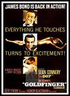 Goldfinger 5 British Movie Posters Classic Vintage & Films £15.99 GBP on eBay