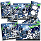SEATTLE SEAHAWKS FOOTBALL TEAM LOGO LIGHT SWITCH OUTLET WALL PLATES MAN CAVE ART $11.69 USD on eBay