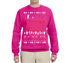 Merry Christmas Stranger Ugly Christmas Lights Sweater Holiday Humor Sweatshirt