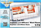1/72 MPM U-Boot Typ IXC Captain's & Officers' Ward Room for sale  Shipping to Canada