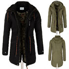 Jacke Winterjacke Herren Parka Eight2Nine Mantel Parker Winter Outdoor Kapuze