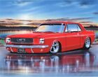 1966 Ford Mustang Coupe Classic Car Art Print w/ Color Options