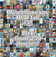 Miscellaneous DVD Lot #7: DISC ONLY - Pick Items to Bundle and Save!