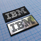 IBM - Metallic Aluminium Sticker Case Badge - 48 mm x 24 mm