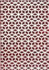 Maroon Red Rug 120 x 170 80 x 150 160 x 220 Large Mat Living Room Cube Geometric