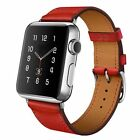 Genuine Leather Wrist Strap For Apple Watch iWatch Band 40mm 44mm Series 4 3 2 1