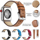 Genuine Leather Wrist Strap For Apple Watch iWatch Band 40mm 44mm Series 4 3 2 1 image