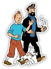 Tintin Captain Haddock Cartoon Sticker Decal laptop wall car phone Kids