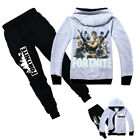 Kinder Fortnite Royale Traininganzug Jogginganzug  Kapuze Hoodie Hosen Tracksuit