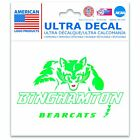 "Binghamton Bearcats Official NCAA 3"" x 4"" Automotive Car Decal 3x4 b ..."