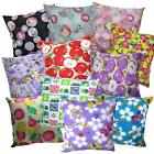 Pillow Cover*Modern Cotton Canvas Sofa Seat Pad Cushion Case Custom Size*AL1