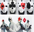 New Wild Card Outfit Skin Halloween Mask Christmas Party Cosplay Prop Full Mask