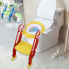 Soft Kids Potty Training Seat with Step Stool Ladder Child Toddler Toilet Chair image