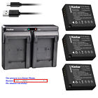DMW-BLE9 Battery or Dual Charger for Panasonic Lumix DC-ZS70 DC-GX9 DC-ZS200