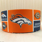 "3"" GROSGRAIN DENVER BRONCOS FOOTBALL GROSGRAIN RIBBON FOR HAIR BOWS *SHIPS FREE $9.0 USD on eBay"